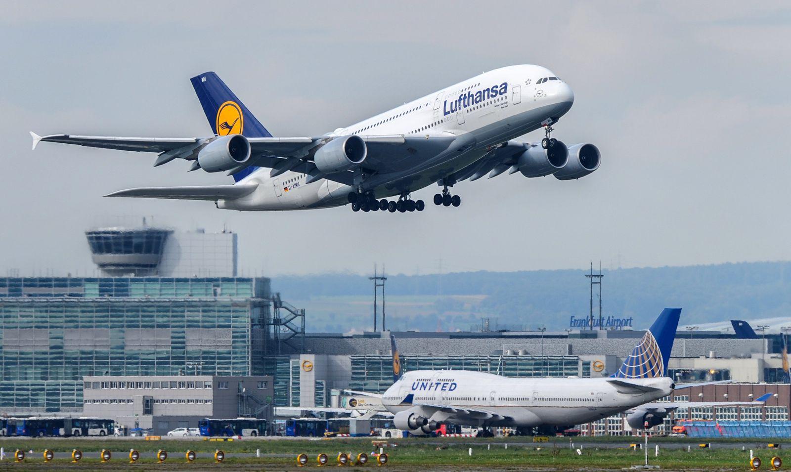 Flughafen Frankfurt / Airbus / Lufthansa