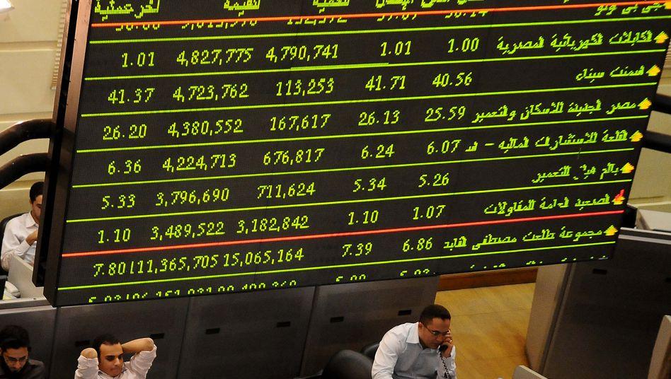 Handelssaal in Kairo: Wie wird die Börse in die Ära nach Mubarak starten?