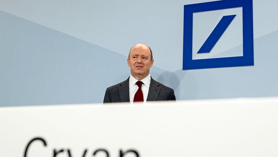 Lieferte ein Sparkonzept, aber keine Wachstumsperspektive: Deutsche-Bank-Chef Cryan bei seinem ersten Auftritt in Frankfurt