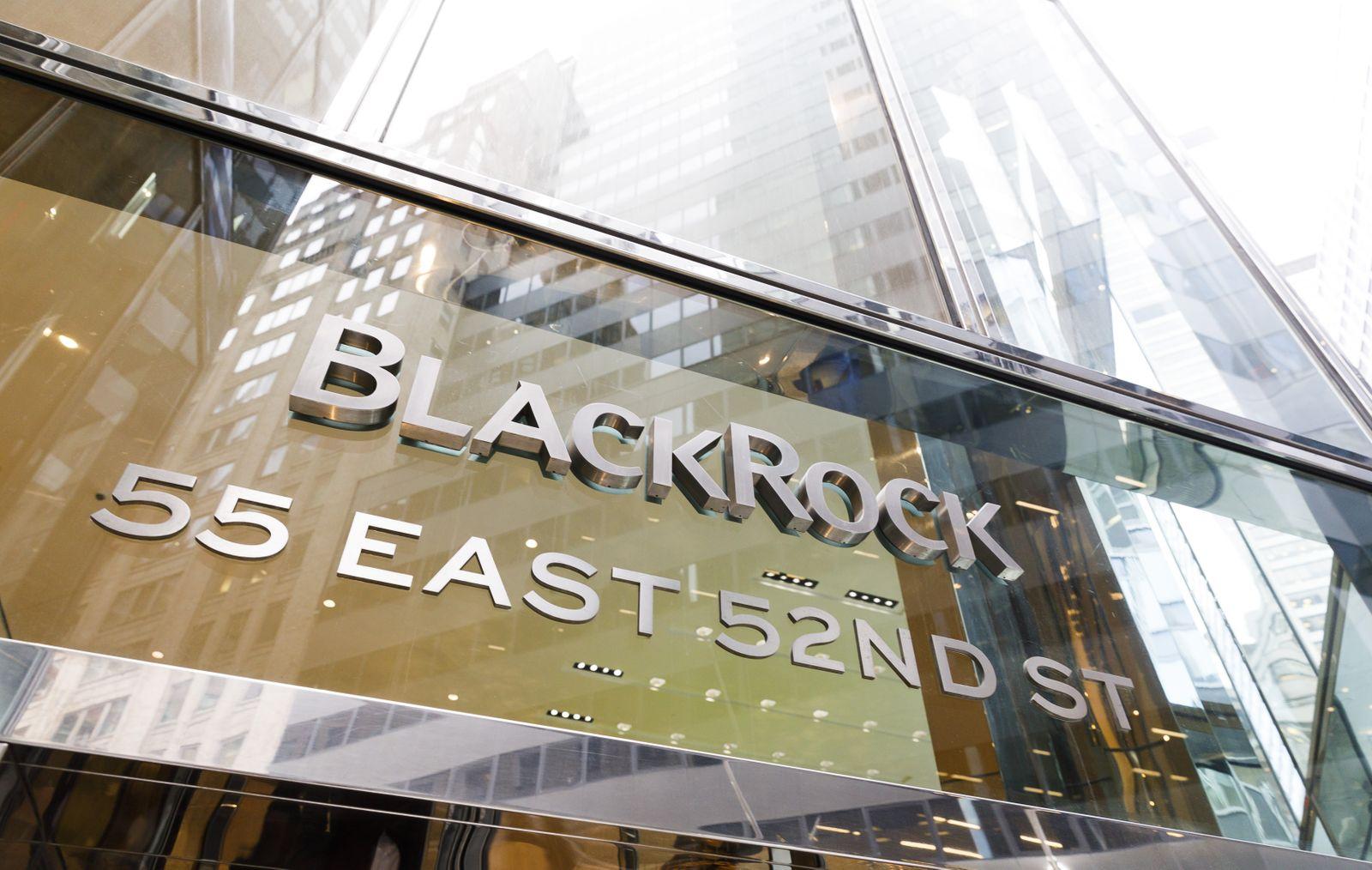 BlackRock results, New York, USA - 16 Jan 2020