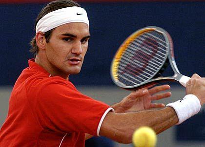 Roger Federer: Der Schweizer ist zurzeit im Tennis das Maß aller Dinge