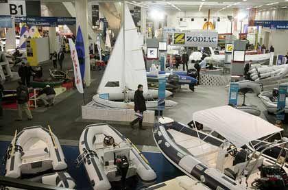 Maritime Träume: Rund 1200 Segel- und Motorboote sind noch bis zum 4. November auf der Hanseboot zu sehen