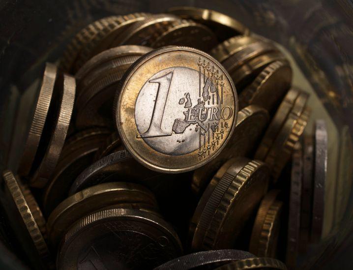 Der Euro: Je schwächer, umso besser für die Exportwirtschaft der Währungszone