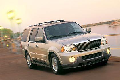 Lincoln Navigator: 300 PS unter dem mächtigen Kühlergrill (Verbrauch: 17,5 Liter)