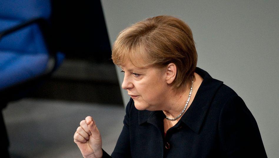 """Bundeskanzlerin Angela Merkel: Krise bietet """"Chance zur Umkehr und zum Lernen"""""""