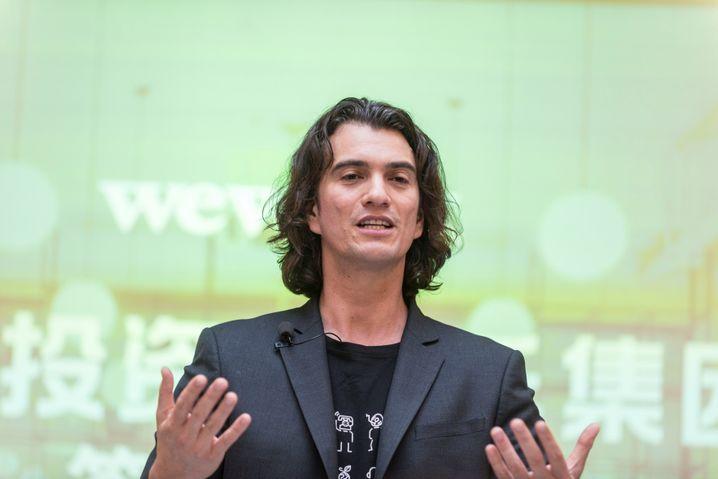Baut sein Geschäftsmodell vertikal aus: WeWorks-CEO Adam Neumann,