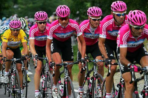 Der Motor stottert: Team-T-Mobile bei der Tour de France