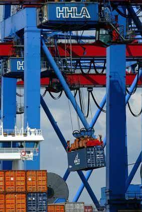 Rekordjahr 2005: Boomender Außenhandel im Hamburger Hafen