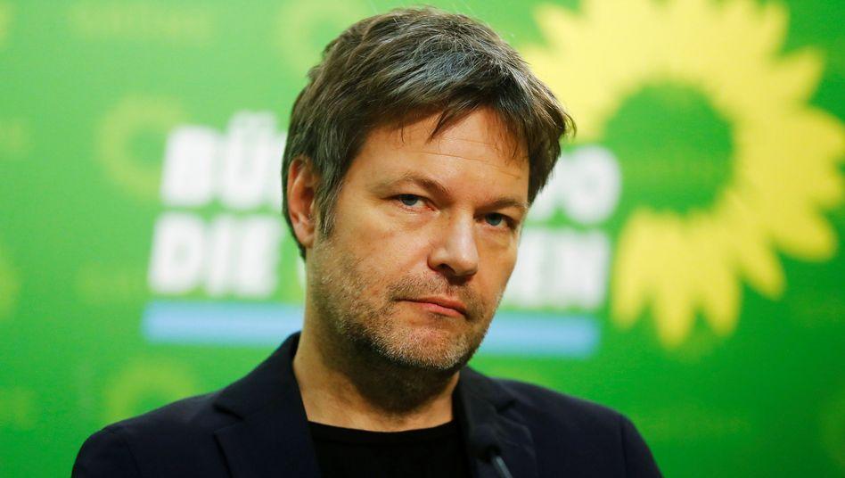 """""""Da, wo kein Wettbewerb mehr besteht, gilt es einzugreifen"""": Grünen-Partei-Chef Robert Habeck"""