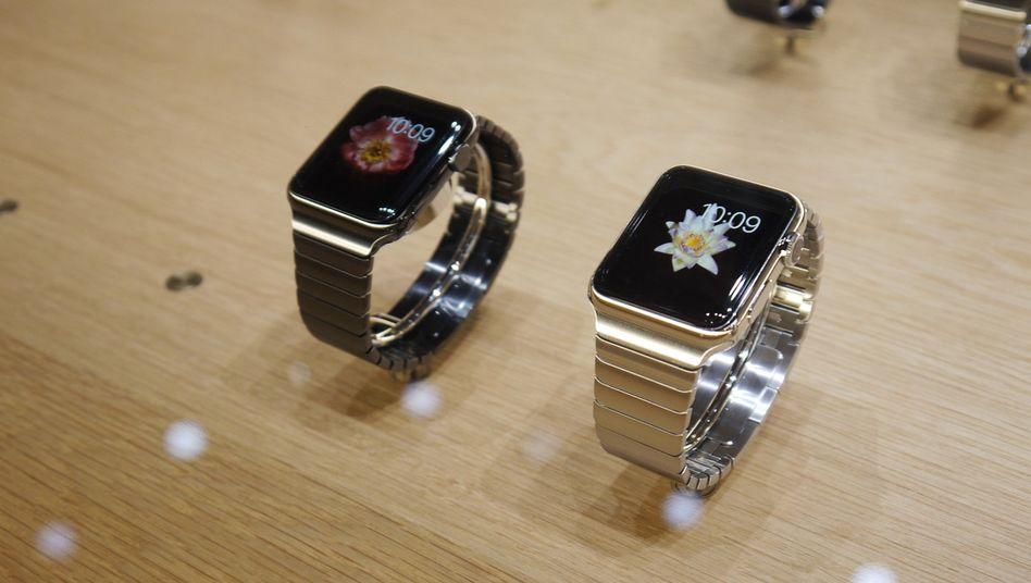Verschiedene Modelle: Die Apple Watch soll es in drei verschiedenen Varianten und mit vielen verschiedenen Armbändern geben