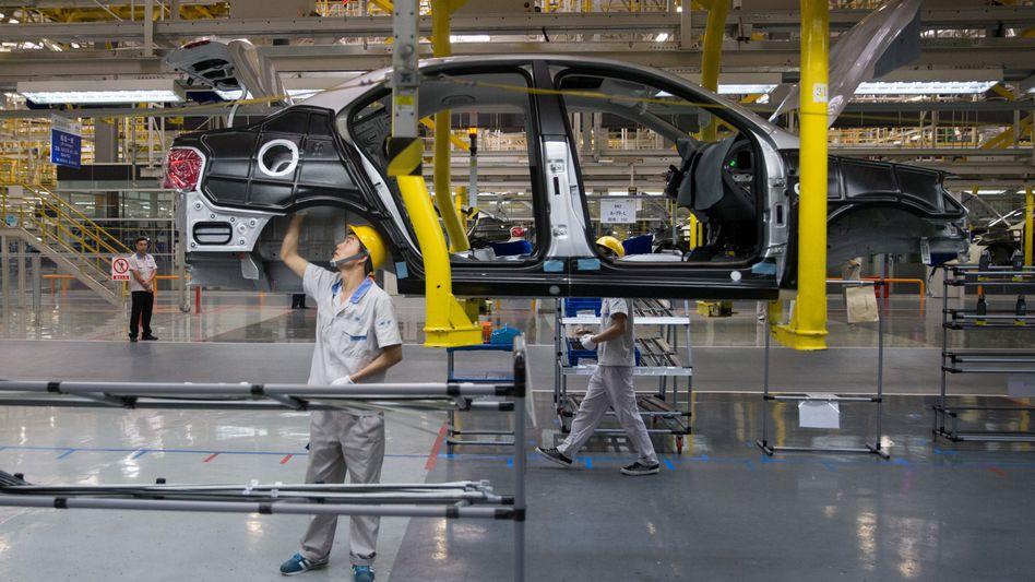 FAW-VW Werk in Chengdu: Starke Anziehungskraft, hohe Risiken