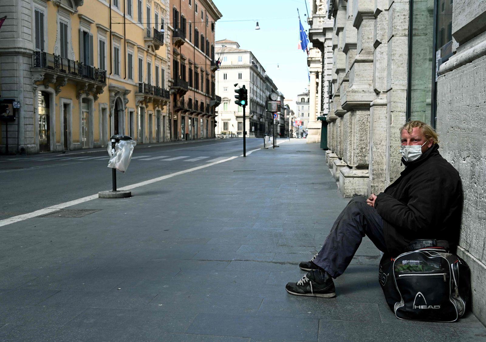 Italien / Wohnungsloser