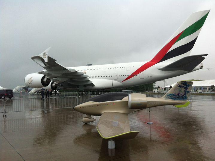 Airbus E-Fan 2 (vor A380): Im kommenden Jahr soll der Batterieflieger starten