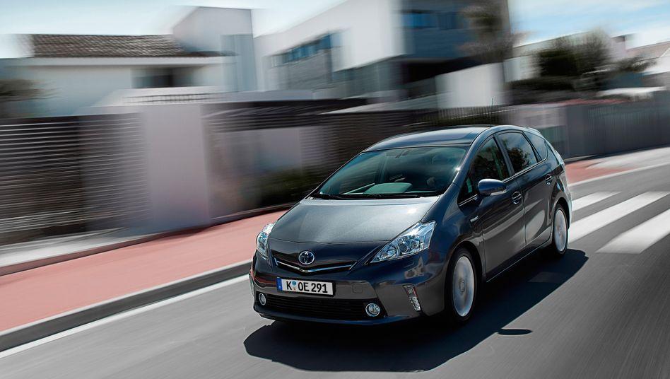 Toyota Prius: Noch hat Toyota kein reines Elektroauto auf den Weg gebracht, ist aber dabei, ein reines Batterieauto zu entwickeln