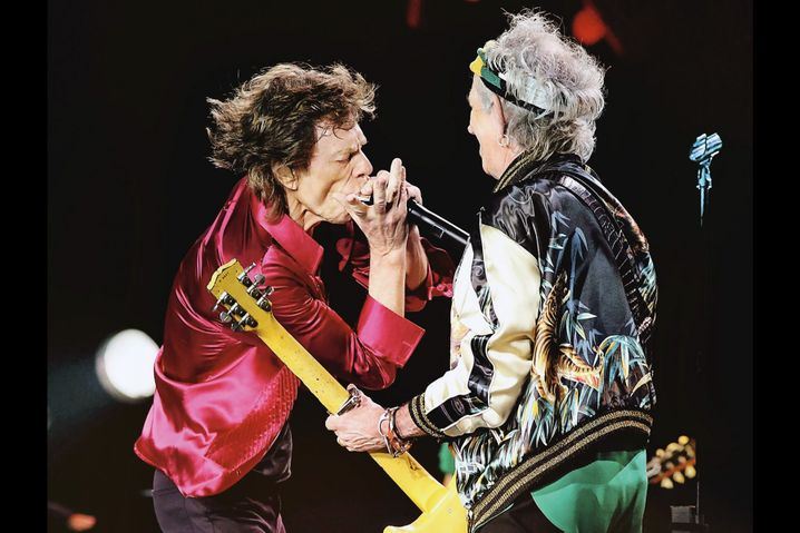 Wollen für Corona-Kampf Geld eintreiben: Die Rolling Stones haben für ein Benefiz-Konzert zugesagt.