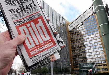 Deutsche Bank kauft sich ein: Das Geldinstitut erwirbt einen 8,4-Prozent-Anteil am Axel-Springer-Verlag