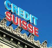 Credit Suisse in Zürich: Schweizer Banken profitieren von der gesetzlich garantierten Verschwiegenheit