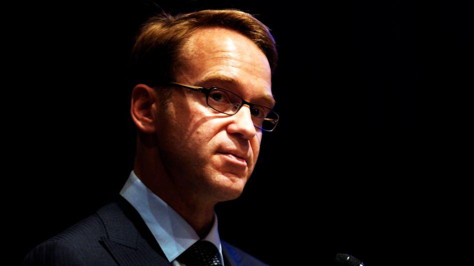 """Bundesbank-Präsident Weidmann: """"Ich will dafür arbeiten, dass der Euro genauso hart bleibt, wie die Mark es war"""""""