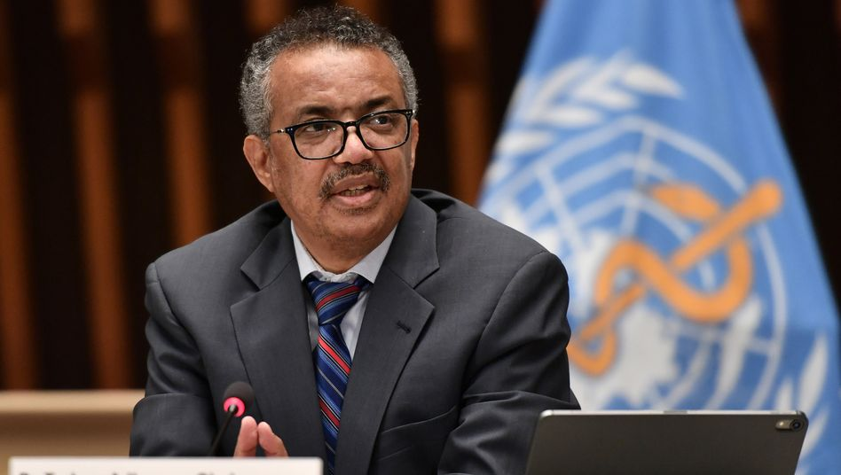 """""""Sehr enttäuscht"""": WHO-Generaldirektor Tedros Adhanom Ghebreyesus"""