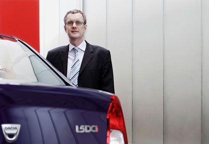 Kantige Kisten Hauptsache funktional: Renault-Deutschland-Chef Jacques Rivoal wurde selbst überrascht vom Erfolg der konzerneigenen Billigmarke Dacia +44% Dacia-Zulassungen in Deutschland 2008 gegenüber 2007