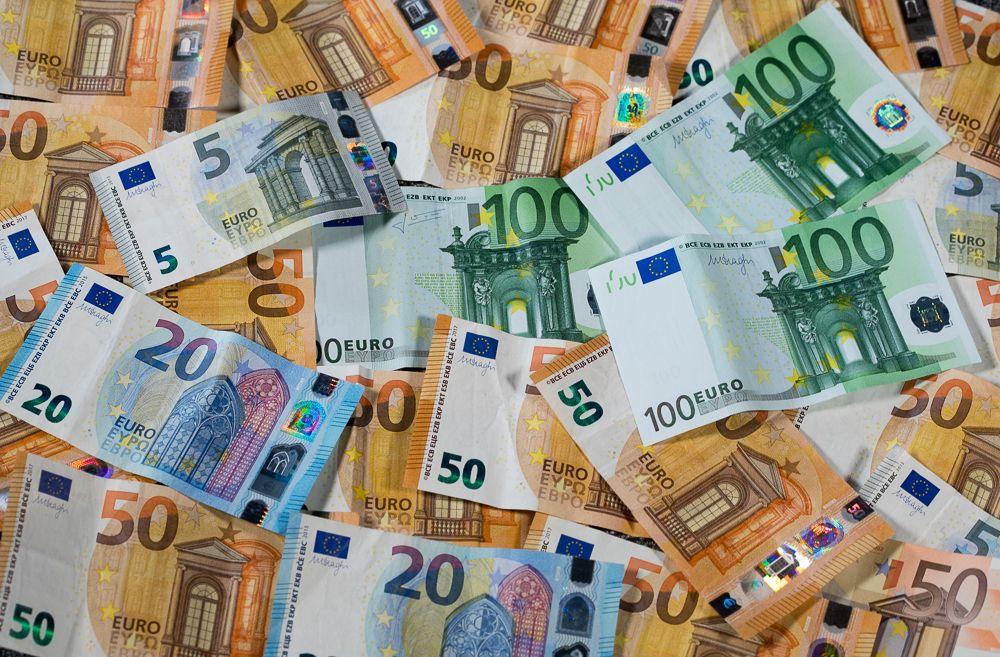Euro-Scheine / Geldscheine