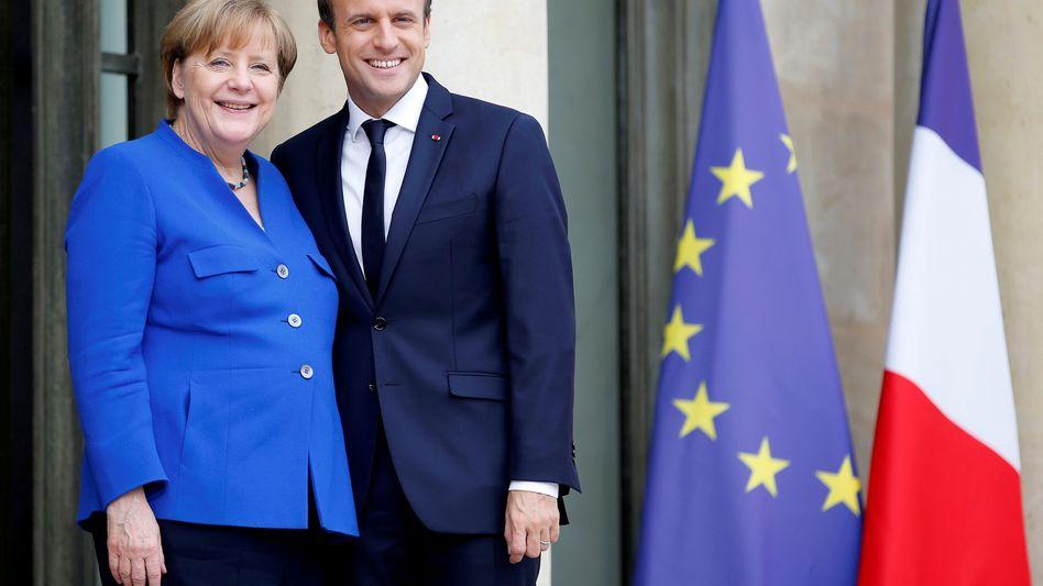 Macron, Merkel: Der größte Sch(r)eck kommt noch