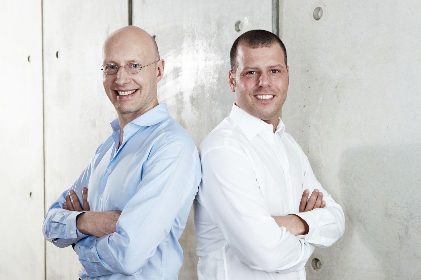 BigPoint / Co-CEO Arthur Bastings (l.), CEO Heiko Hubertz