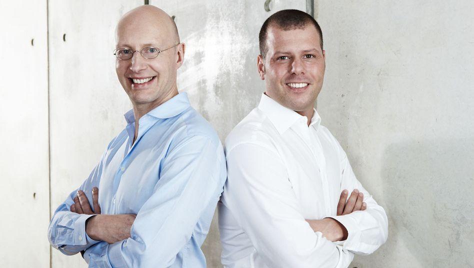 Doppelspitze bei Bigpoint: Co-CEO Arthur Bastings (l.) und CEO und Gründer Heiko Hubertz