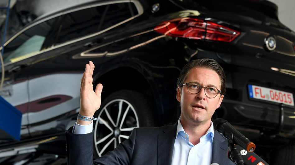 """""""Da wird es auch eine Veränderung von Strategien geben müssen"""": Bundesverkehrsminister Andreas Scheuer"""