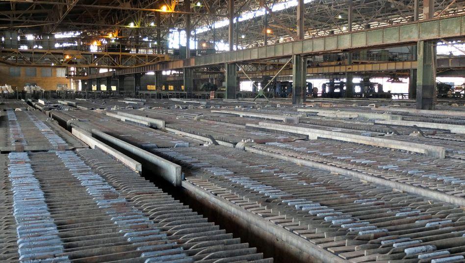 Kobalt-Fabrik im Kongo: China investiert auf allen Stufen in dem Land