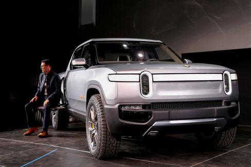Konkurrenzmodelle: Der Elektro-Pick-up R1T von Rivian ...