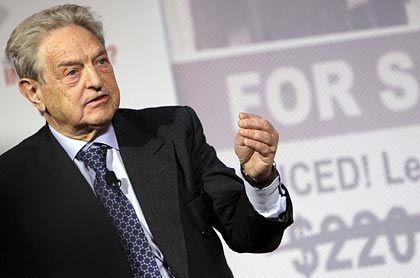 George Soros: Der Meisterinvestor sieht die US-Wirtschaft am Abgrund