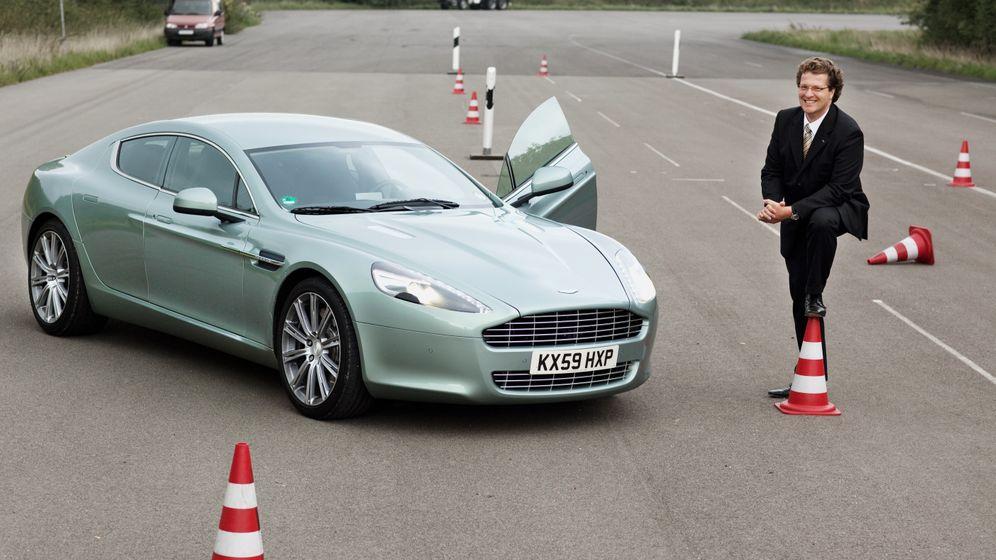 Aston Martin Rapide: Autotest mit Ordinarius Eckstein