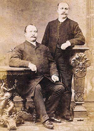 Vorfahren: Johann Peek, Heinrich Cloppenburg