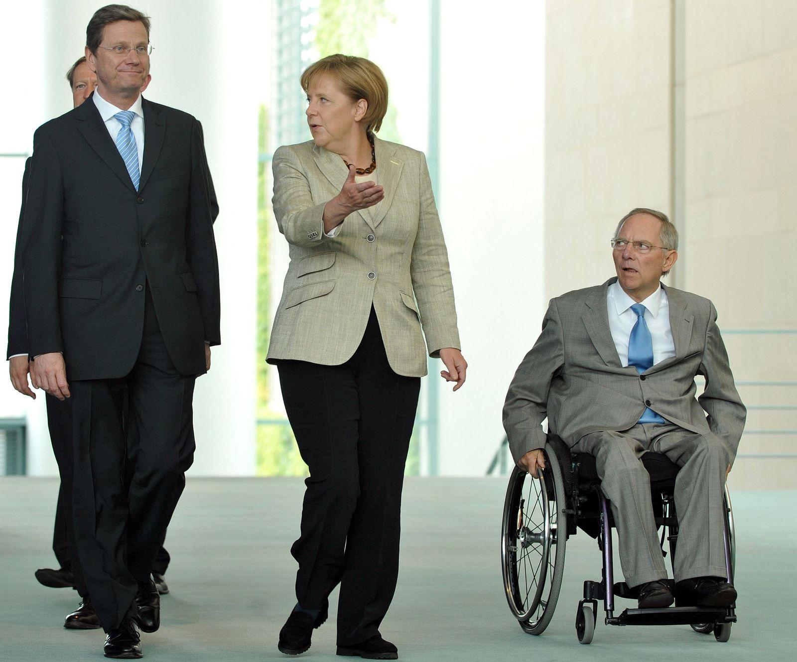 NICHT VERWENDEN Klausurtagung / Merkel / Westerwelle