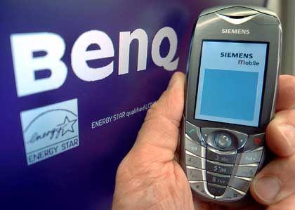 Siemens-Handysparte: Nach der vollständigen Übernahme des Bereichs will BenQ angeblich Arbeitsplatzgarantien vergeben