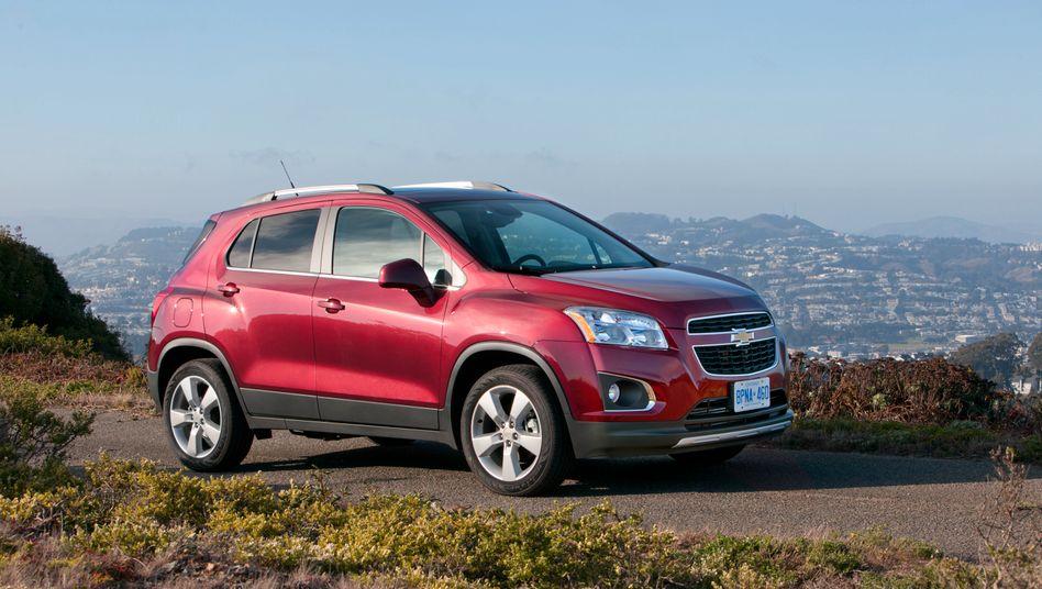 Chevrolet Trax: Das Auto ist baugleich mit dem Opel Mokka - solche Doppelgleisigkeiten wird es ab 2016 nicht mehr geben