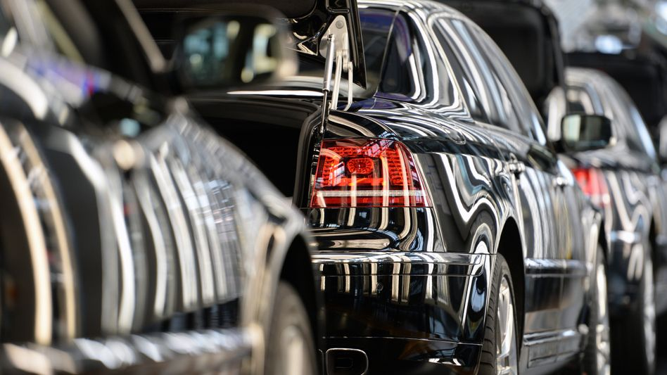 Phaeton-Produktion: VWs Oberklasse-Limousine soll ab 2018 als E-Auto vom Band rollen