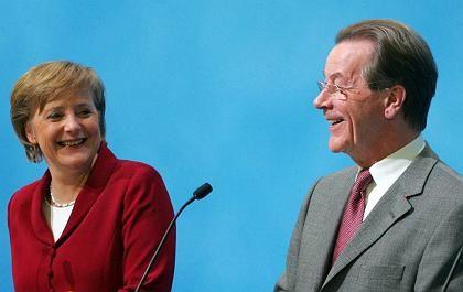 """""""Mathematik kann von niemandem auf dieser Erde außer Kraft gesetzt"""" werden: Merkel, Müntefering"""