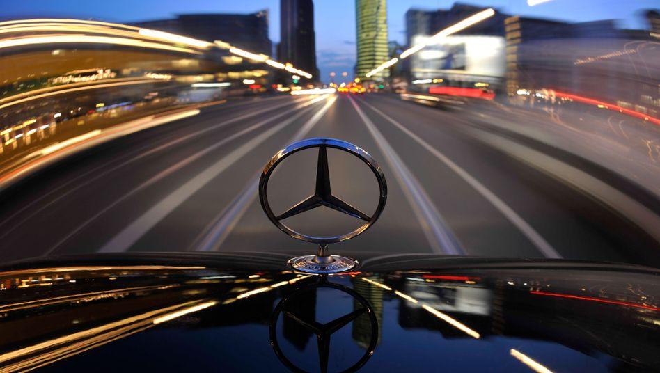 Hohes Tempo: Daimler will sich beim Thema Elektroauto nicht bremsen lassen