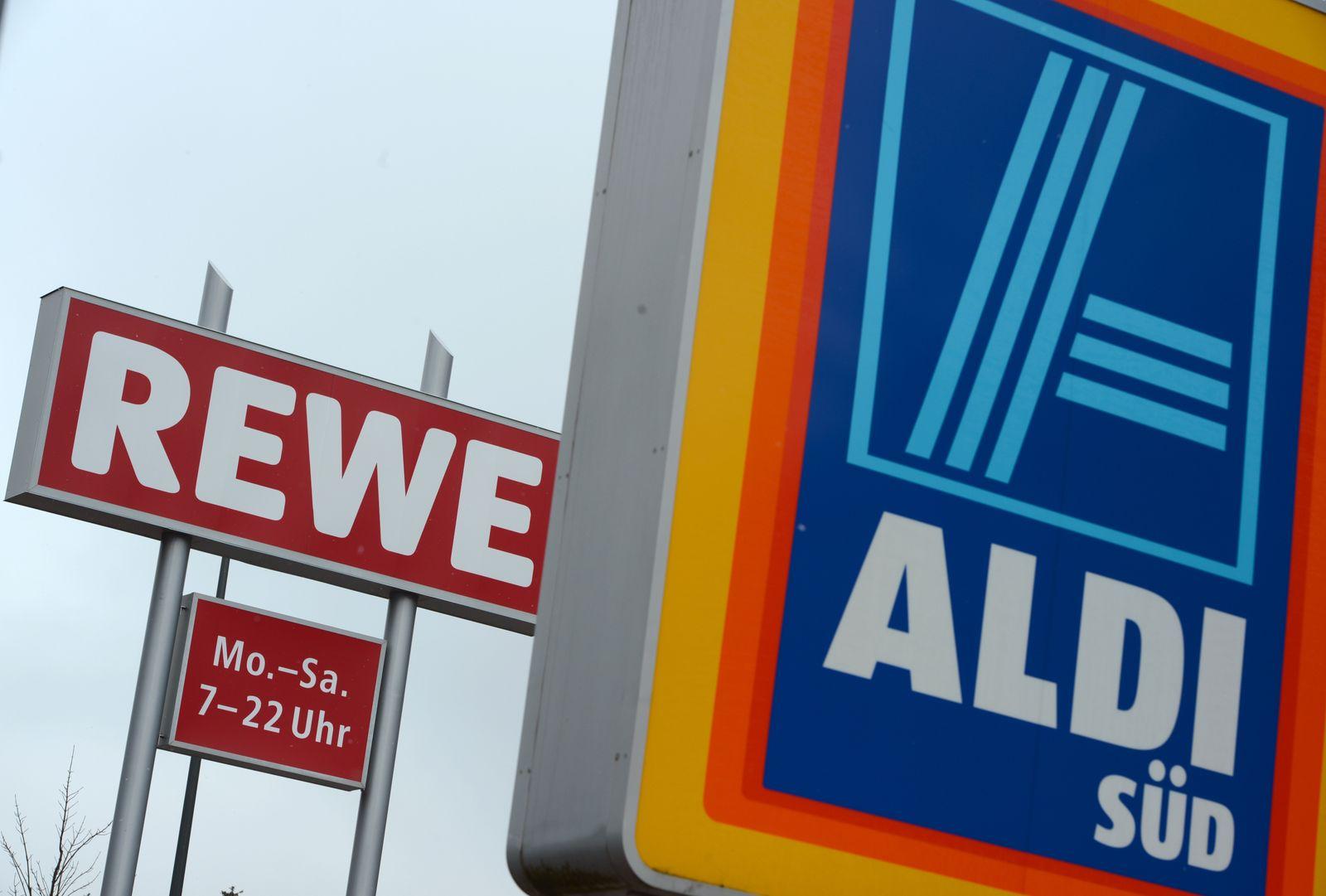 Supermarkt / Discounter / REWE ALDI