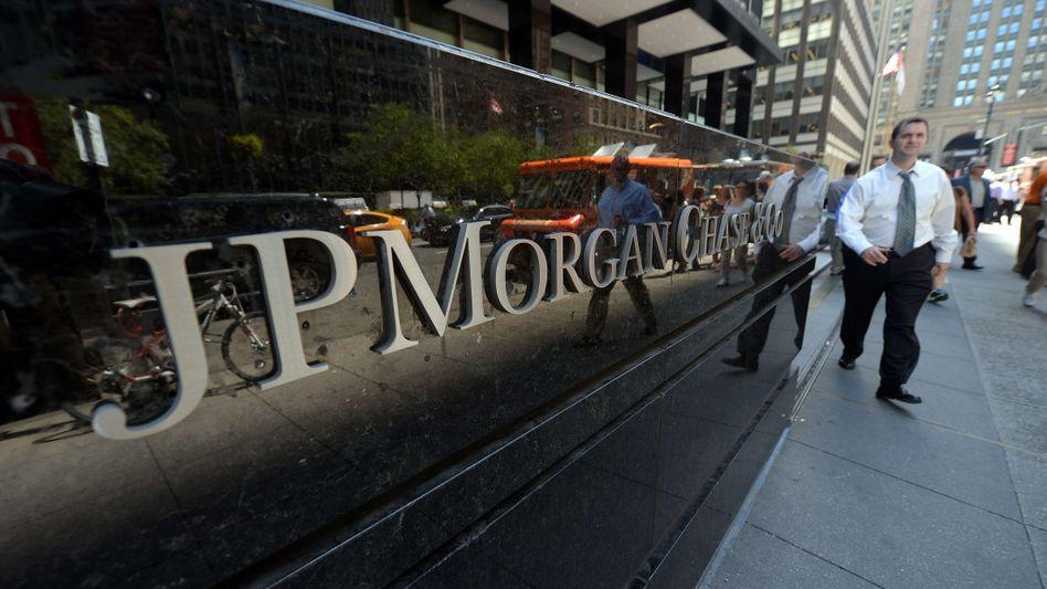 JPMorgan-Zentrale in New York: Gegen die Bank laufen etliche Prozesse
