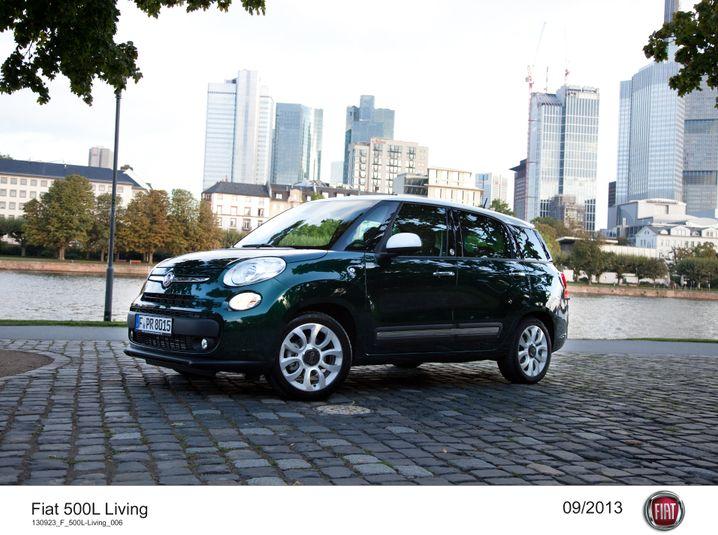 Fiat 500 L: Vom Kleinwagen in Richtung Kompaktklasse ausgedehnt