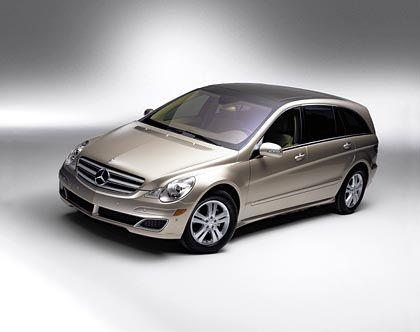 5,16 Meter lang: Mercedes-Benz R-Klasse