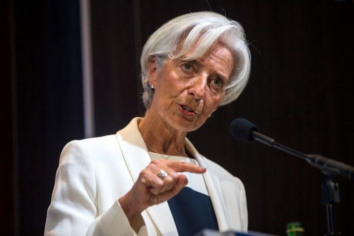 """Lagarde: """"Tragfähiges Schuldenniveau wiederherstellen"""""""