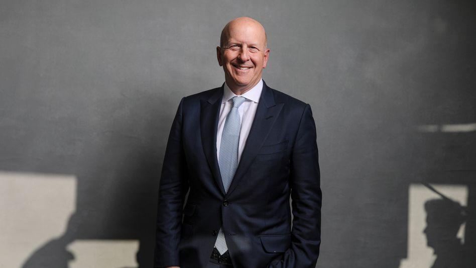 Hart und zäh: Zweimal hat David Solomon sich eine Abfuhr geholt, als er sich bei Goldman bewarb. Ende der 90er Jahre klappte der Wechsel. Seit Herbst 2018 steht er an der Goldman-Spitze.