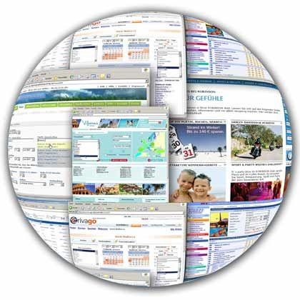 Einmal um die Welt: Auf immer mehr Portalen werden online Urlaubsreisen angeboten