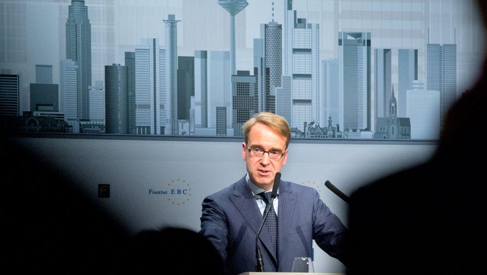 Bundesbankchef Jens Weidmann: Bleibt der Ölpreis niedrig, könnte sich das positiv auf Deutschlands Wachstum auswirken