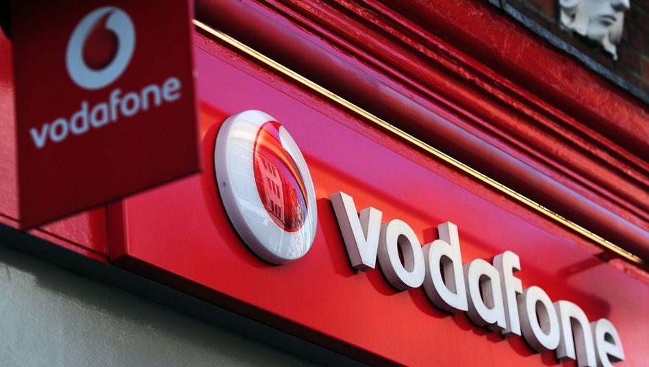 Vodafone: Fast die Hälfte der bundesweit 200 Shops sind bedroht