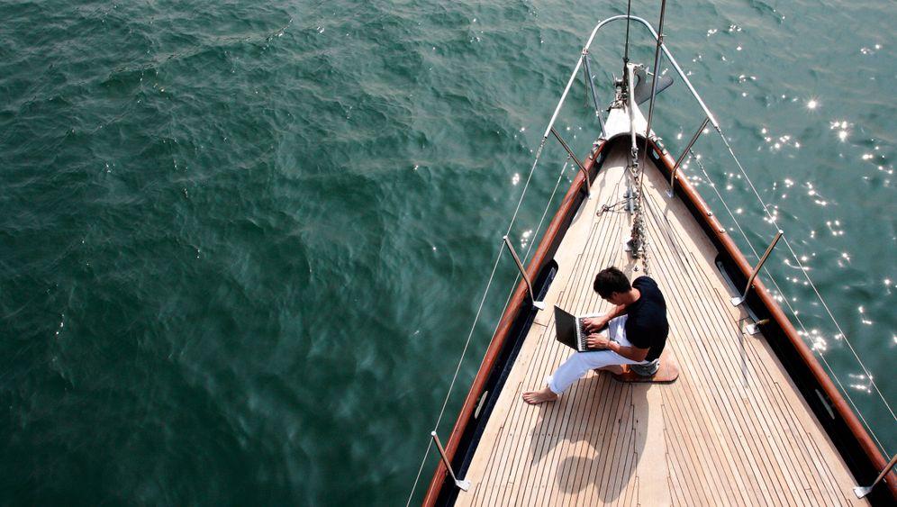 Büro an Bord: Arbeiten auf dem Segelboot